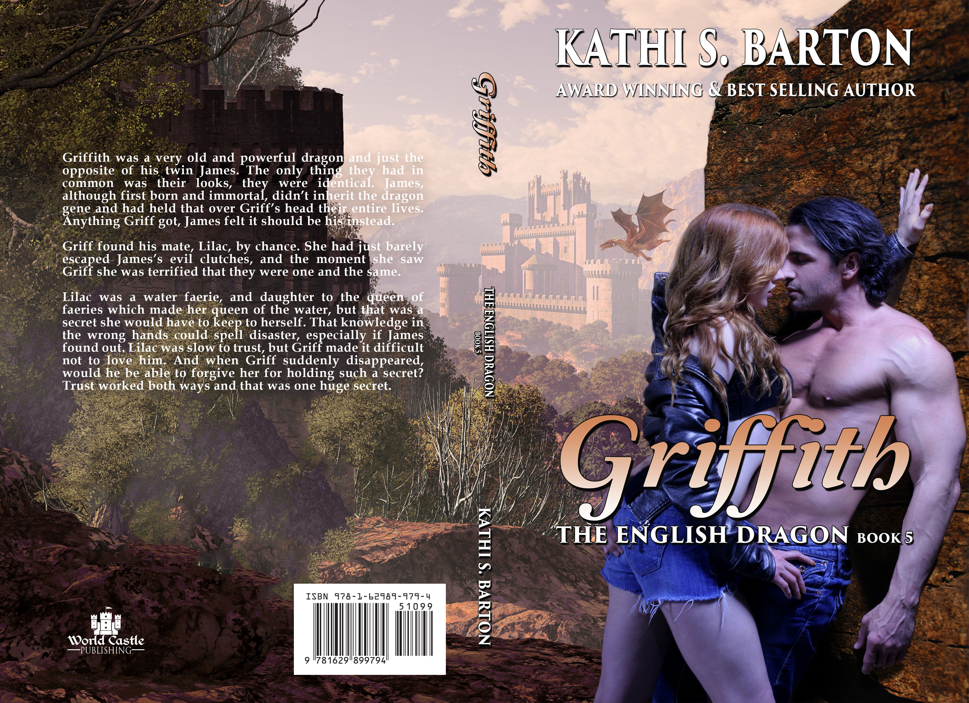 Griffith The English Dragon Release Day Giveaway Author Kathi S